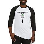 Custom Tennis Racket Baseball Jersey
