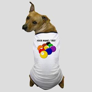 Custom Nine Ball Rack Dog T-Shirt
