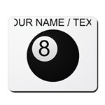 Custom Eight Ball Mousepad