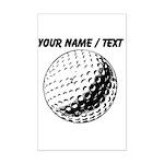 Custom Golf Ball Posters