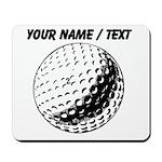 Custom Golf Ball Mousepad