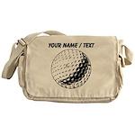 Custom Golf Ball Messenger Bag