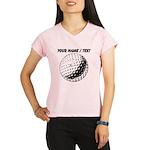 Custom Golf Ball Peformance Dry T-Shirt