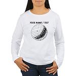 Custom Golf Ball Long Sleeve T-Shirt