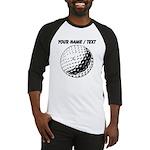 Custom Golf Ball Baseball Jersey