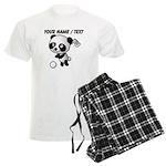 Custom Panda Golfer Pajamas