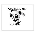 Custom Panda Golfer Posters