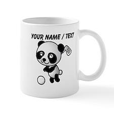 Custom Panda Golfer Mug