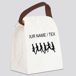 Custom Runners Canvas Lunch Bag