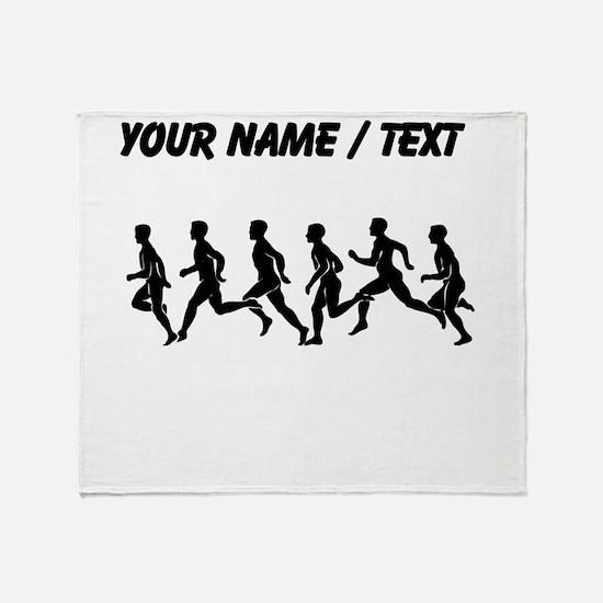 Custom Runners Throw Blanket