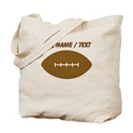 Custom Cartoon Football Tote Bag