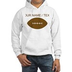 Custom Cartoon Football Hoodie