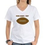 Custom Cartoon Football T-Shirt