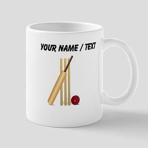 Custom Cricket Wicket Mug