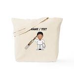 Custom Cricket Player Tote Bag