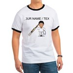 Custom Cricket Player T-Shirt