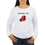 Custom Boxing Glove Long Sleeve T-Shirt