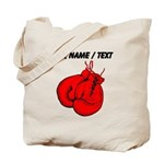 Custom Boxing Gloves Tote Bag