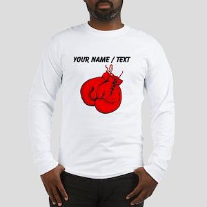 Custom Boxing Gloves Long Sleeve T-Shirt