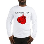 Custom Boxing Gloves Long Sleeve T-Shirt