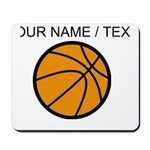 Custom Cartoon Basketball Mousepad