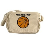 Custom Cartoon Basketball Messenger Bag