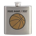Custom Cartoon Basketball Flask
