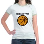 Custom Cartoon Basketball T-Shirt