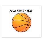 Custom Orange Basketball Posters