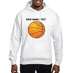 Custom Orange Basketball Hoodie