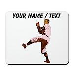 Custom Retro Baseball Pitcher Mousepad