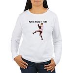 Custom Retro Baseball Pitcher Long Sleeve T-Shirt