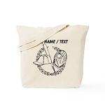 Custom Baseball Icon Tote Bag