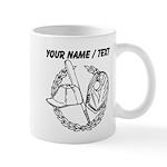 Custom Baseball Icon Mug
