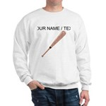 Custom Baseball Bat Sweatshirt