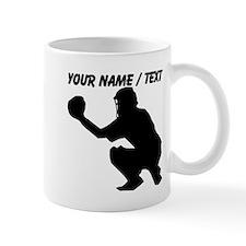 Custom Baseball Catcher Mug
