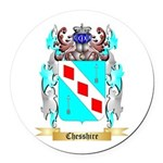 Chesshire Round Car Magnet