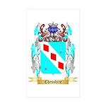 Chesshire Sticker (Rectangle 10 pk)
