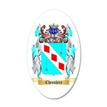 Chesshire 35x21 Oval Wall Decal