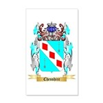 Chesshire 20x12 Wall Decal