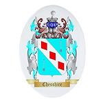 Chesshire Ornament (Oval)