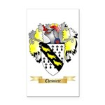 Chesniere Rectangle Car Magnet