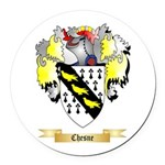Chesne Round Car Magnet