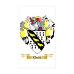 Chesne Sticker (Rectangle 50 pk)