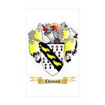 Chesnais Sticker (Rectangle 50 pk)