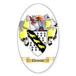 Chesnais Sticker (Oval 50 pk)