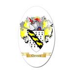 Chesnais 20x12 Oval Wall Decal