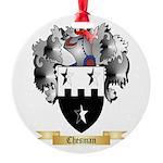 Chesman Round Ornament