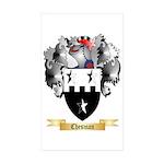 Chesman Sticker (Rectangle 50 pk)
