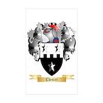 Chesier Sticker (Rectangle 50 pk)